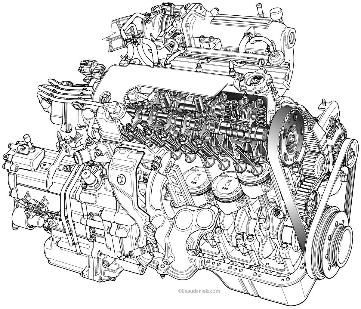 dodge ram 1500 engine diagram 2004 lincoln ls v6 engine Toyota Celica Engine Diagram Toyota Engine Diagram