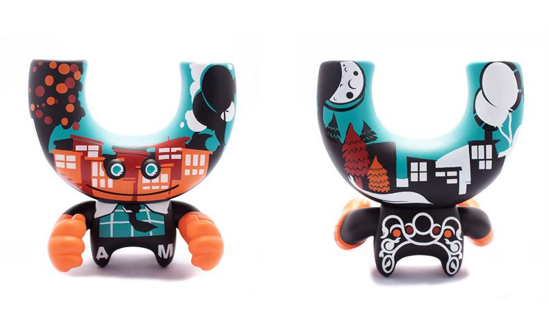 Adobe Portfolio Munny Dunny vinyl Urban toys Custom japanese Kidrobot