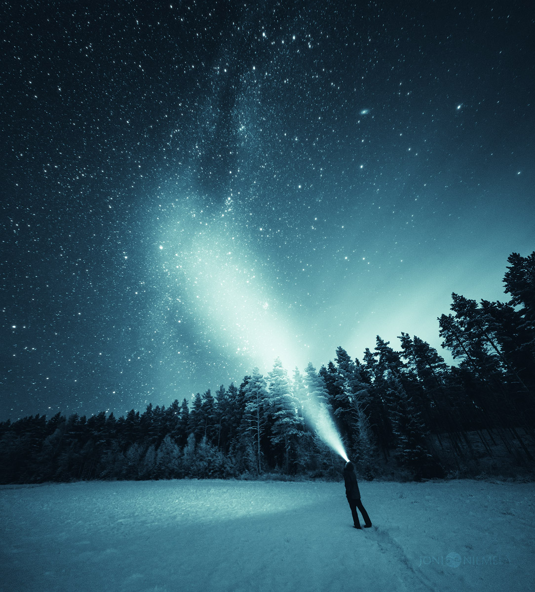 Night Sky On Behance