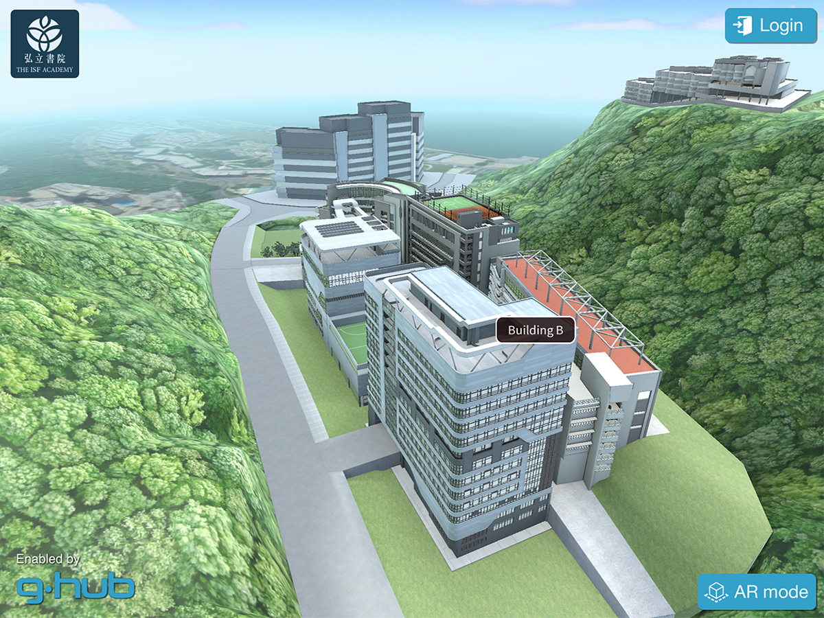 The ISF Academy in Hong Kong Sustainability App on Behance