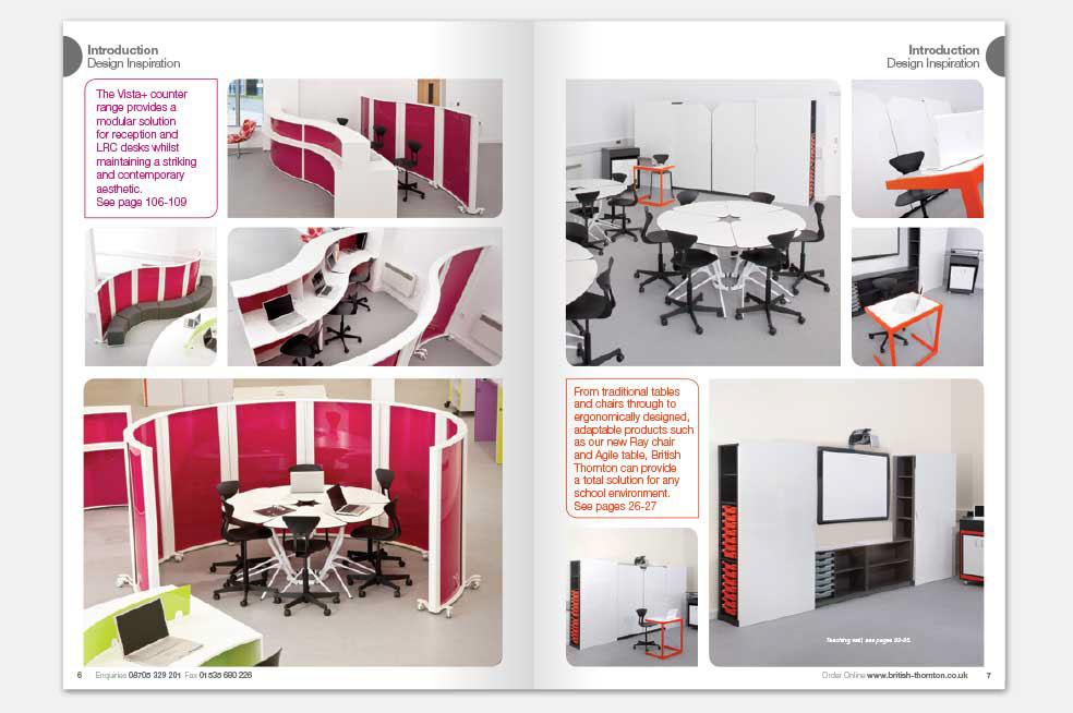 Furniture Design Catalogue nsj creative - freelance graphic design and illustration