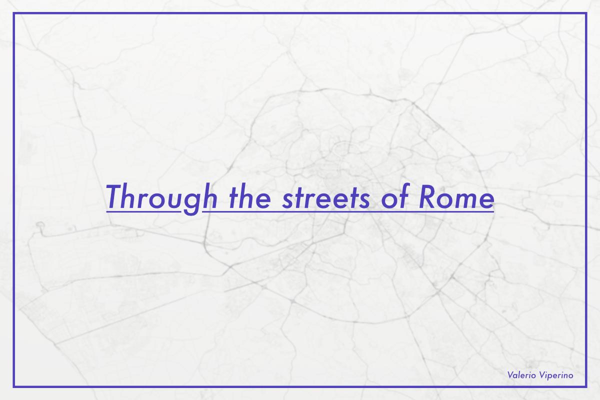 Data Viz data visualization houdini Procedural streets geohack generative