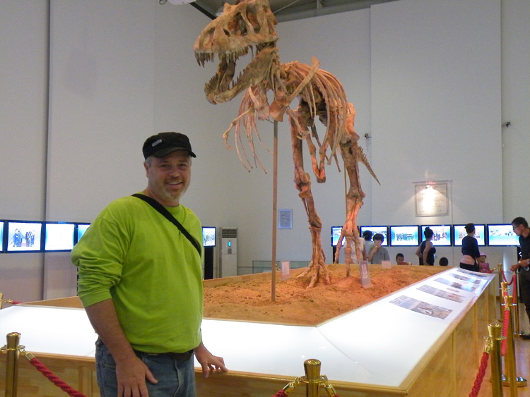 sculpture paleoart paleo dinosaurs natural science Education teaching mongolia
