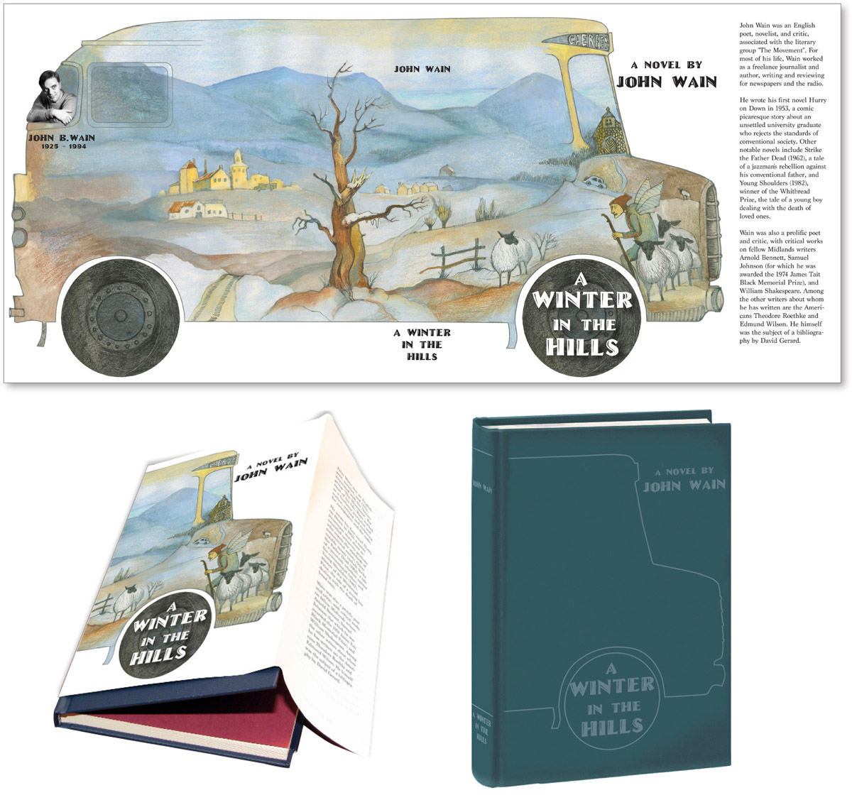 Book Cover Design colored pencils print layout