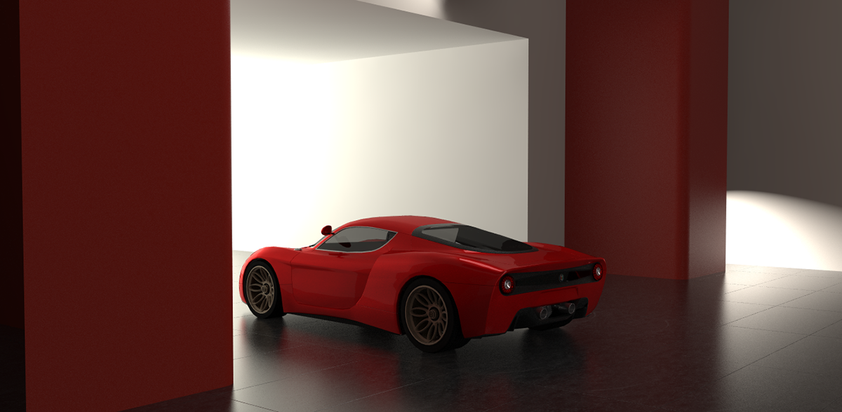 Alfa Romeo 33 2 Concept On Behance