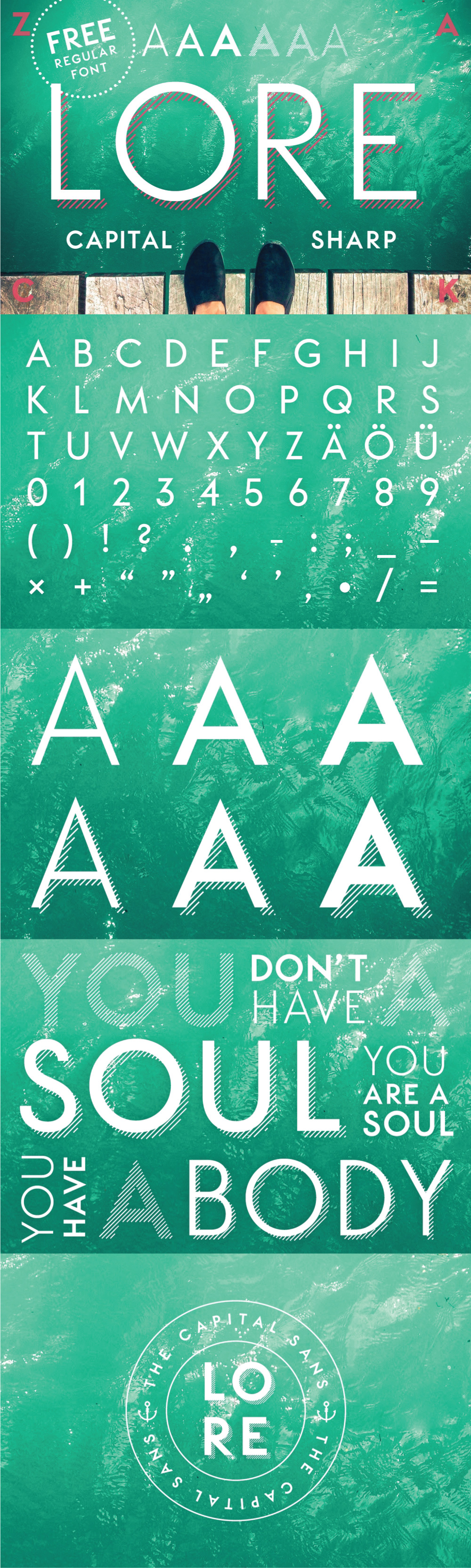 Free font free fonts free freebie Typeface free typeface geometric sans serif type commercial use