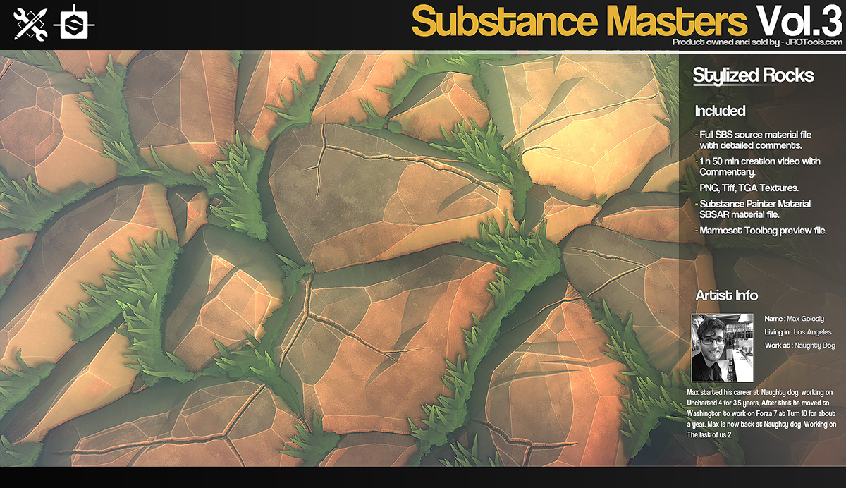 Substance Masters Vol 3 on Wacom Gallery