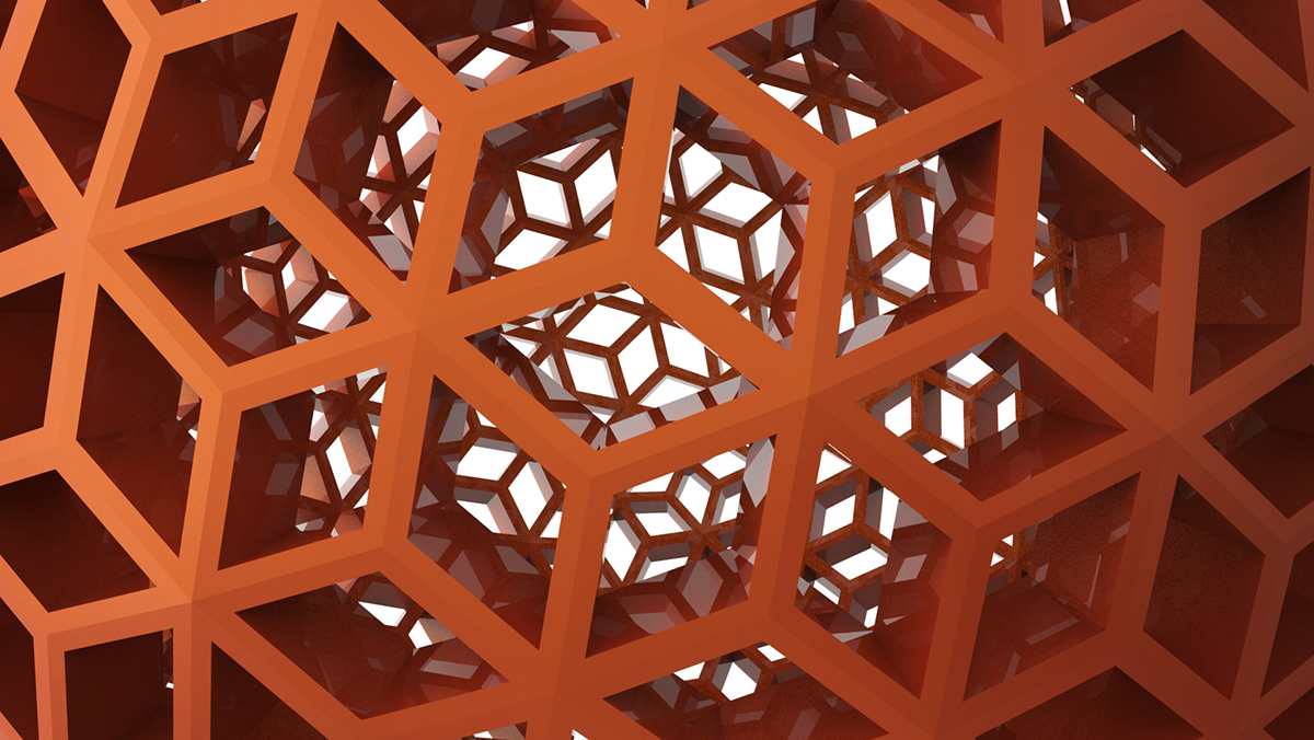 Polyhedral Sculptures on Behance