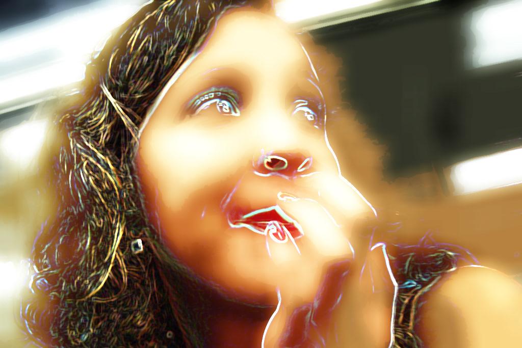 Image may contain: human face and cartoon
