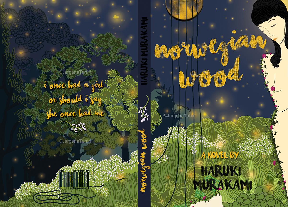 Book Cover Concept/Norwegian Wood-Haruki Murakami on Behance