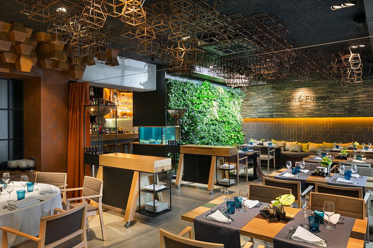 fish fusion gastronomic restaurant on behance. Black Bedroom Furniture Sets. Home Design Ideas