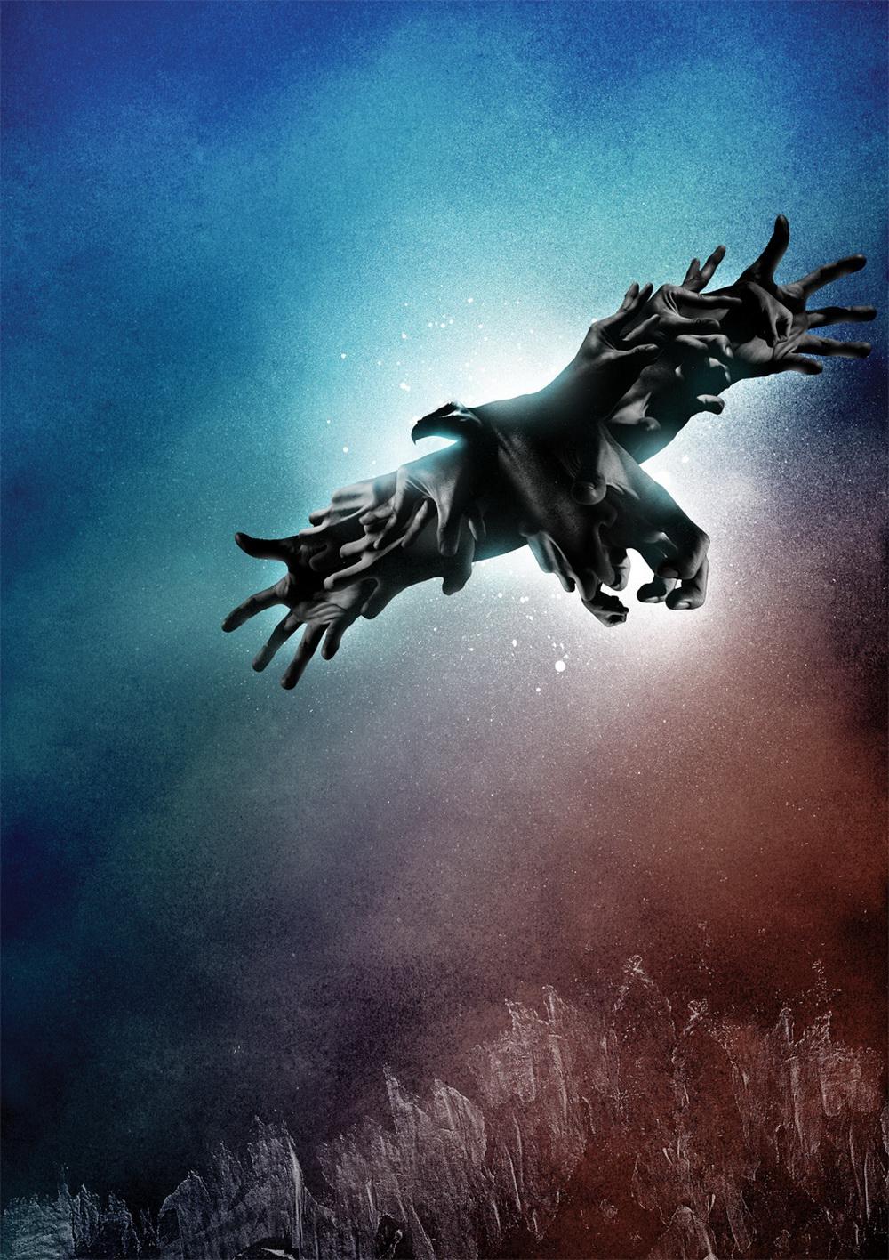 Adobe Portfolio ars thanea ars thanea animals eagle sea horse spider chicken praying mantis reindeer digital artist survival Nature death graphic art work