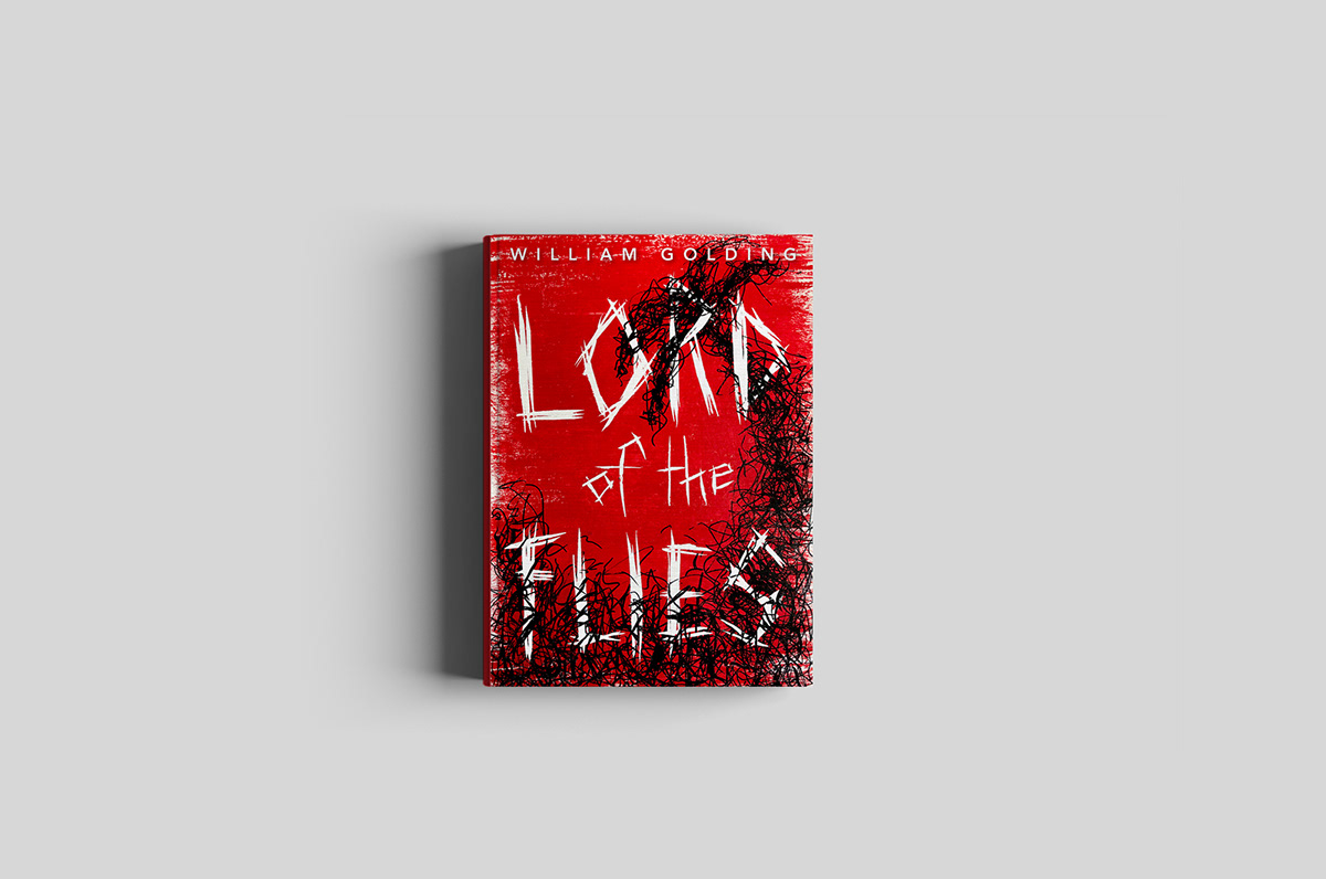 Lord Of The Flies Book Cover On Pratt Portfolios
