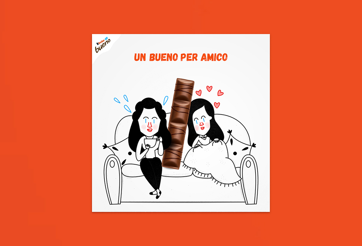 kinder bueno commercial song