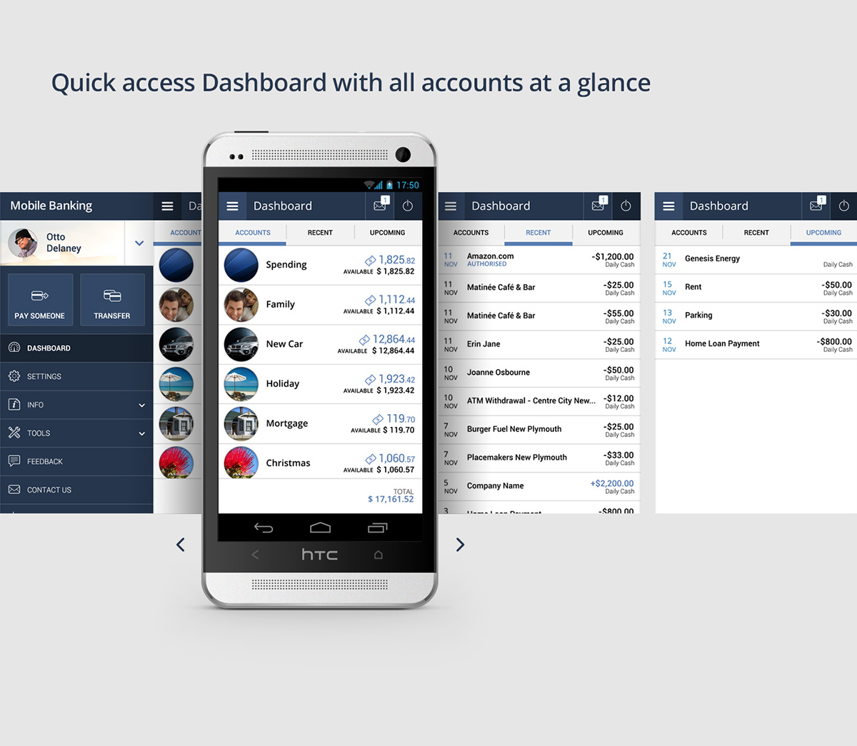 android finance banking app user experience User Interaction