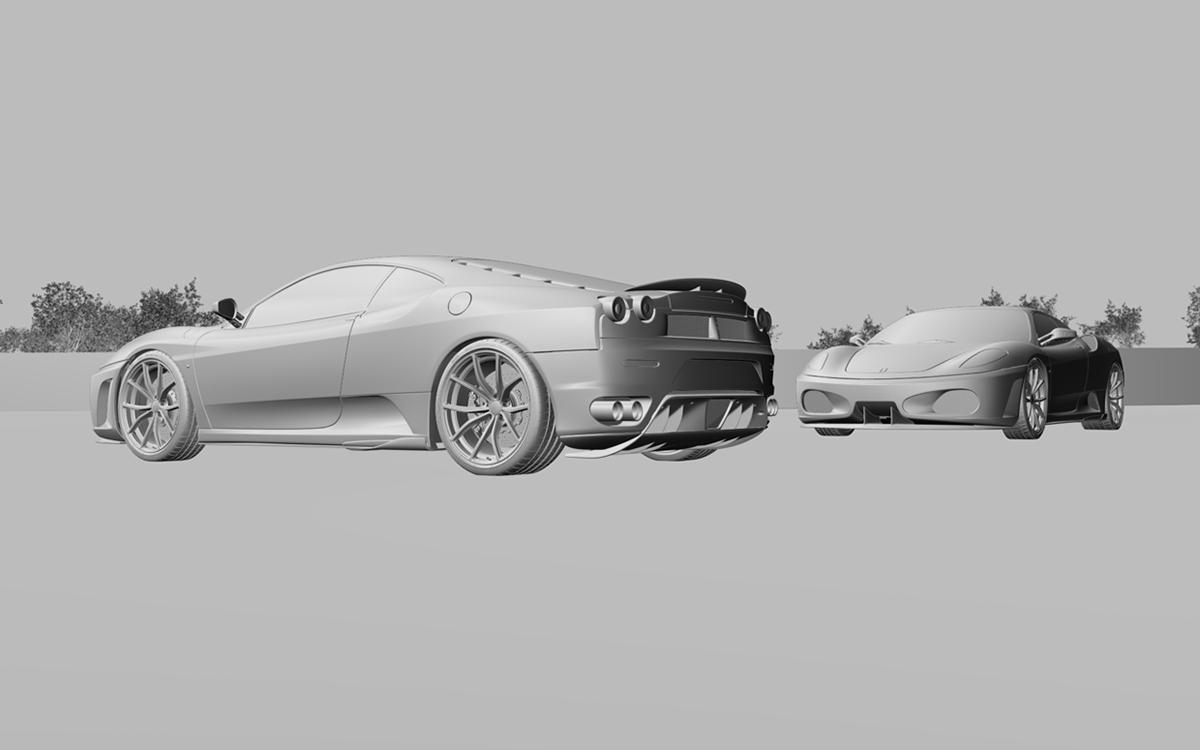 3D Exotic Cars - CGI Renders