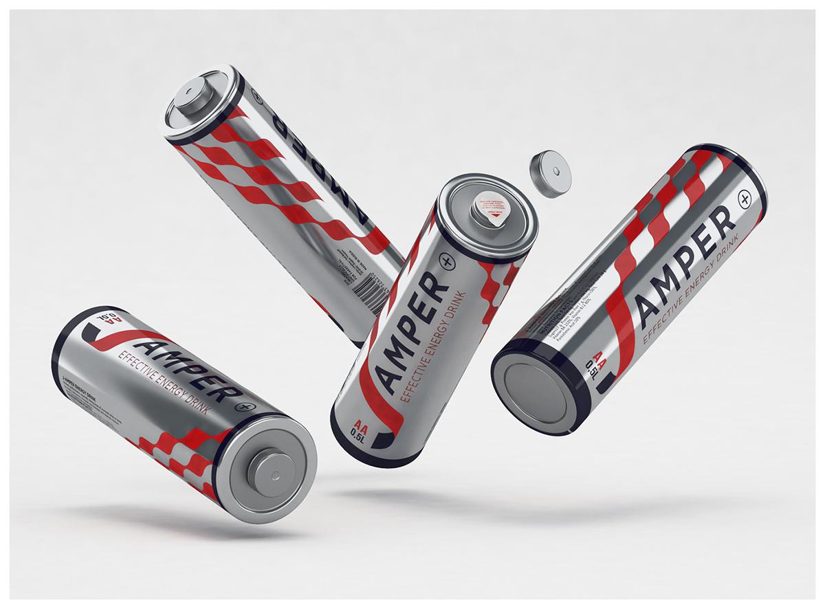 jumper energy drink Pack bottle battery ampere