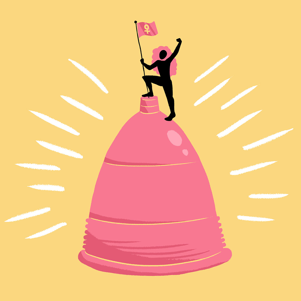 Conquering the Menstrual Cup on Behance