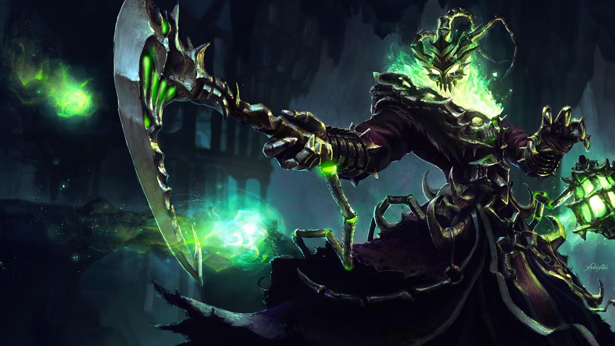 [Fanart] Thresh . League Of Legends Tribute On Behance