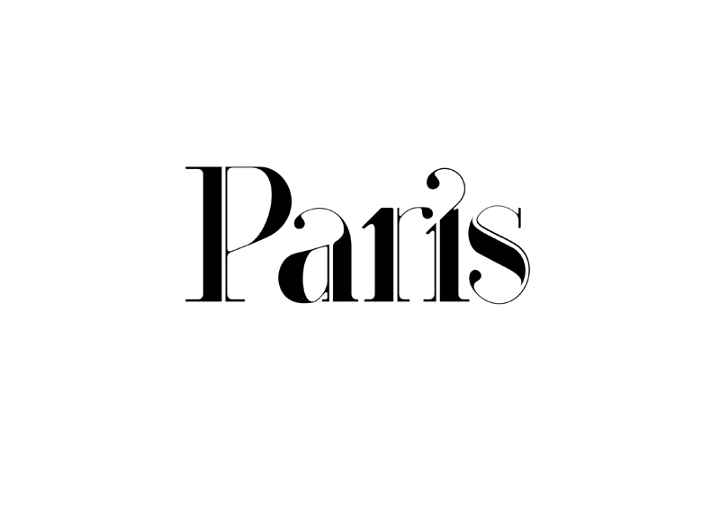 paris strip new typeface by moshik nadav typography on behance