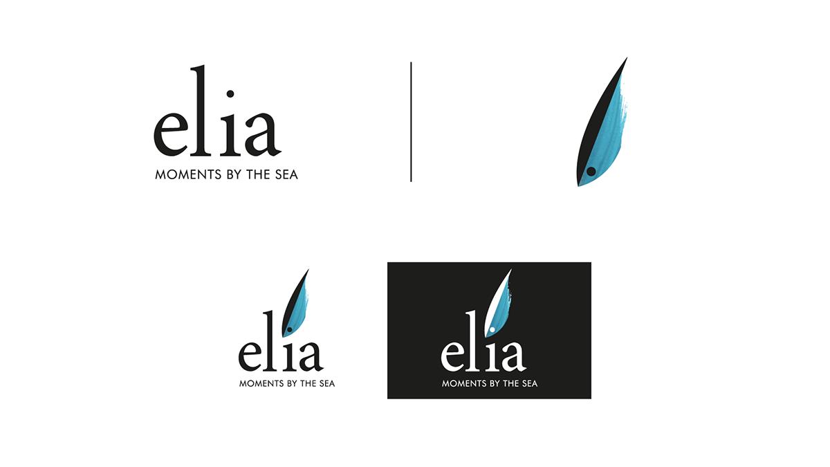 bar beach branding  corporate design Food  Greece identity logo restaurant