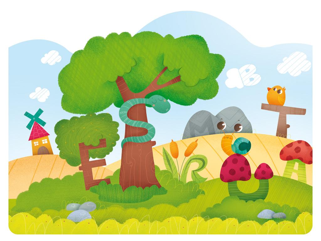 ilustración infantil editorial teide libros de texto ilustradora infantil