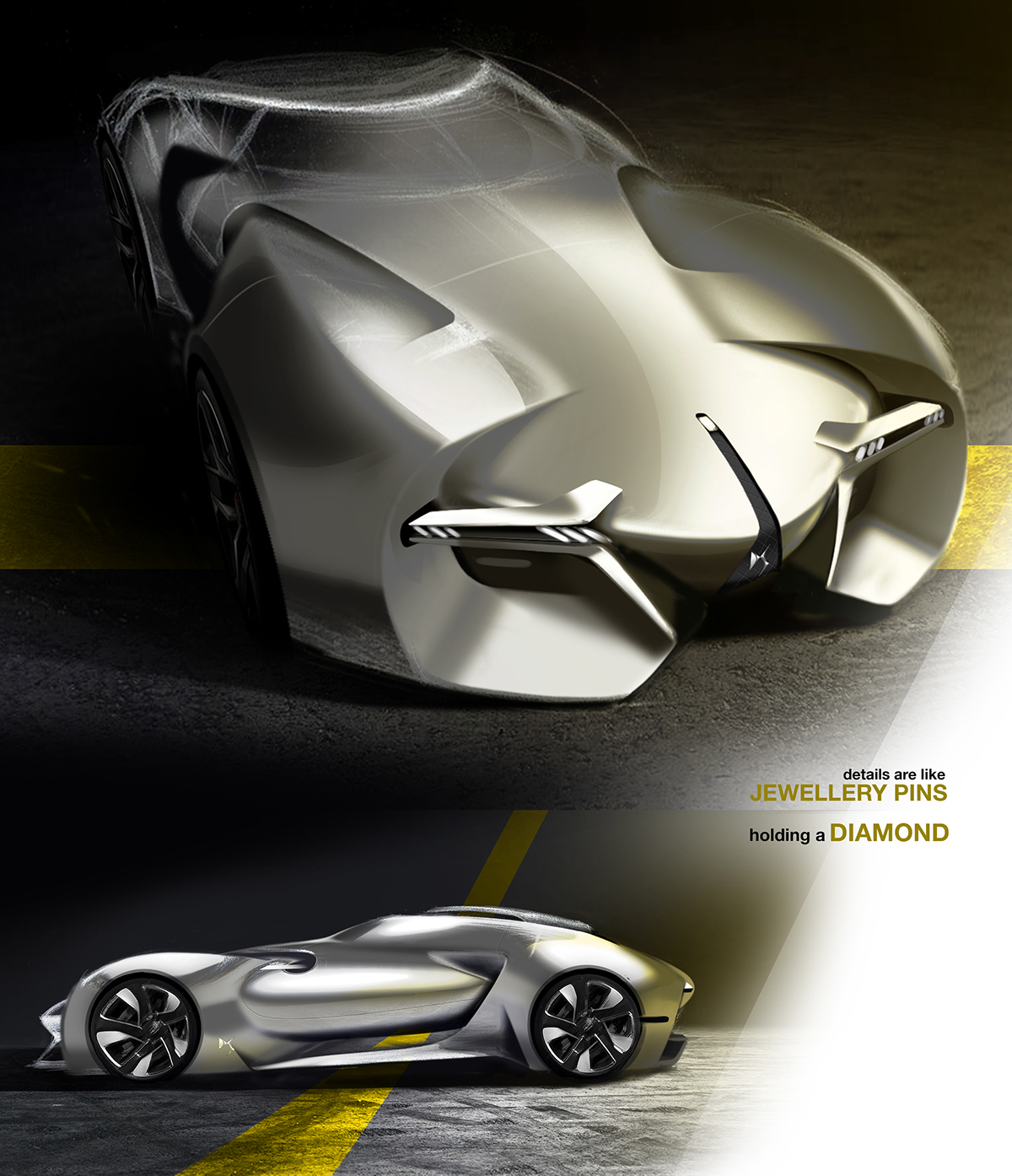 Sketches of the Future Concept Cars