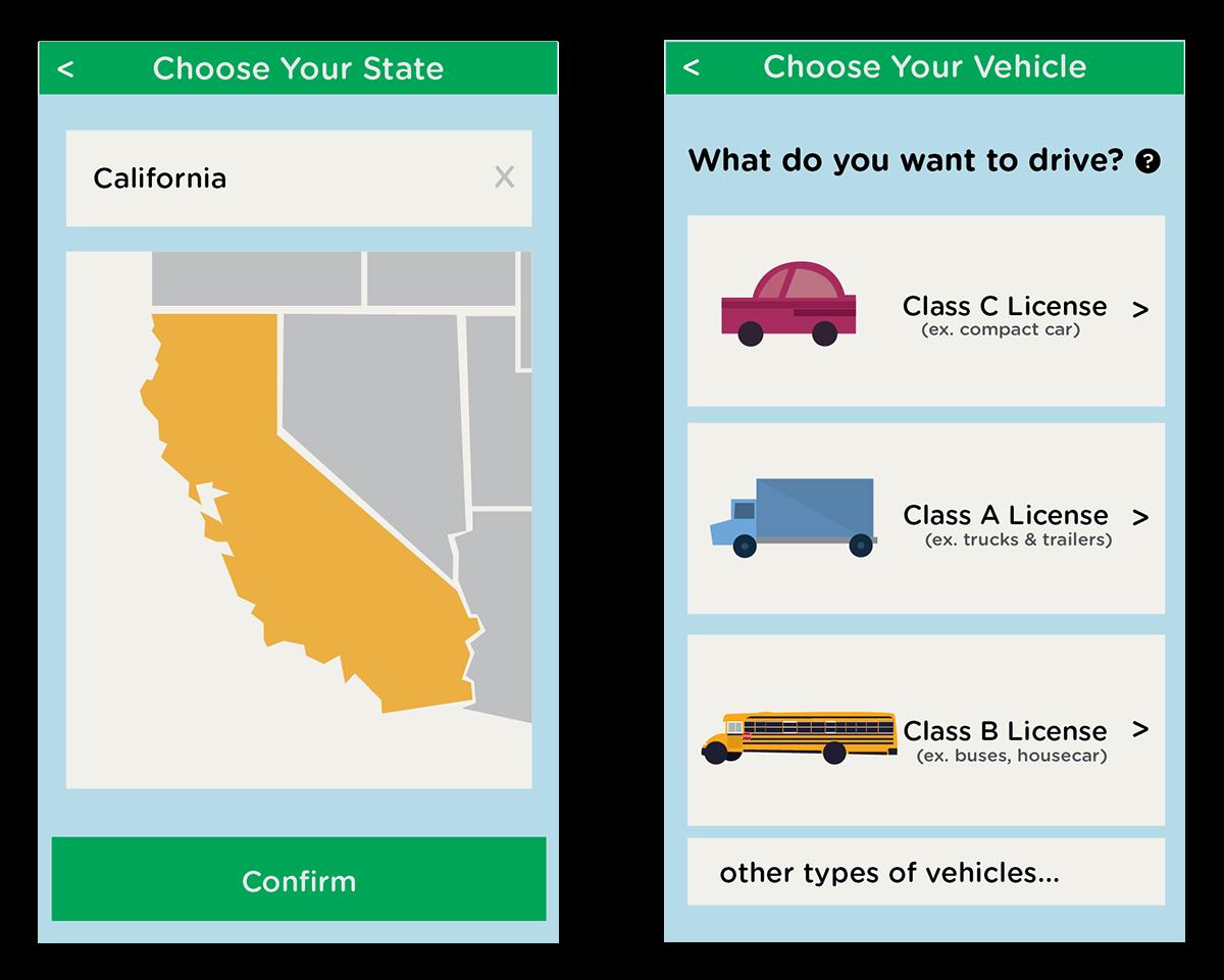 Drivers Ed - Duolingo Style on Behance