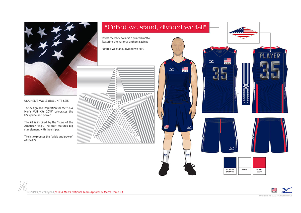 mizuno volleyball uniform design