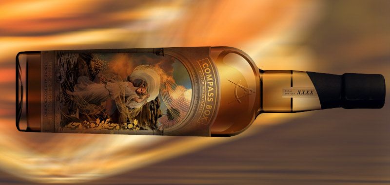 Header for Compass Box whisky, Magnin wine & Spirits