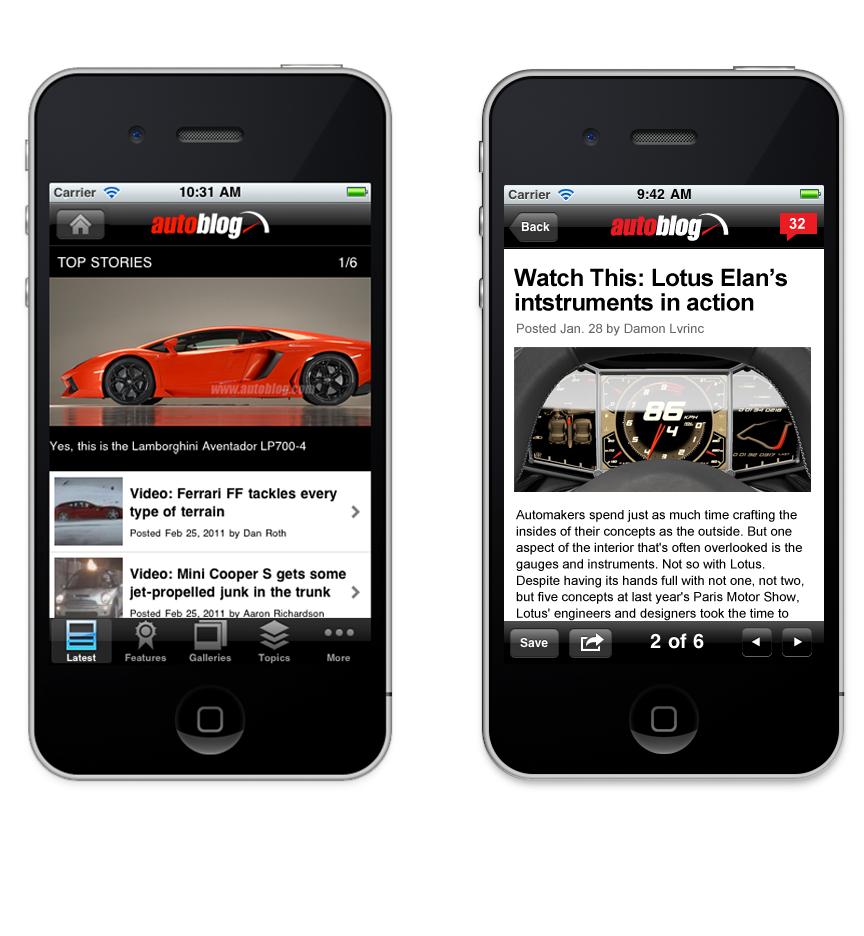 Autloblog automotive   Blog AoL