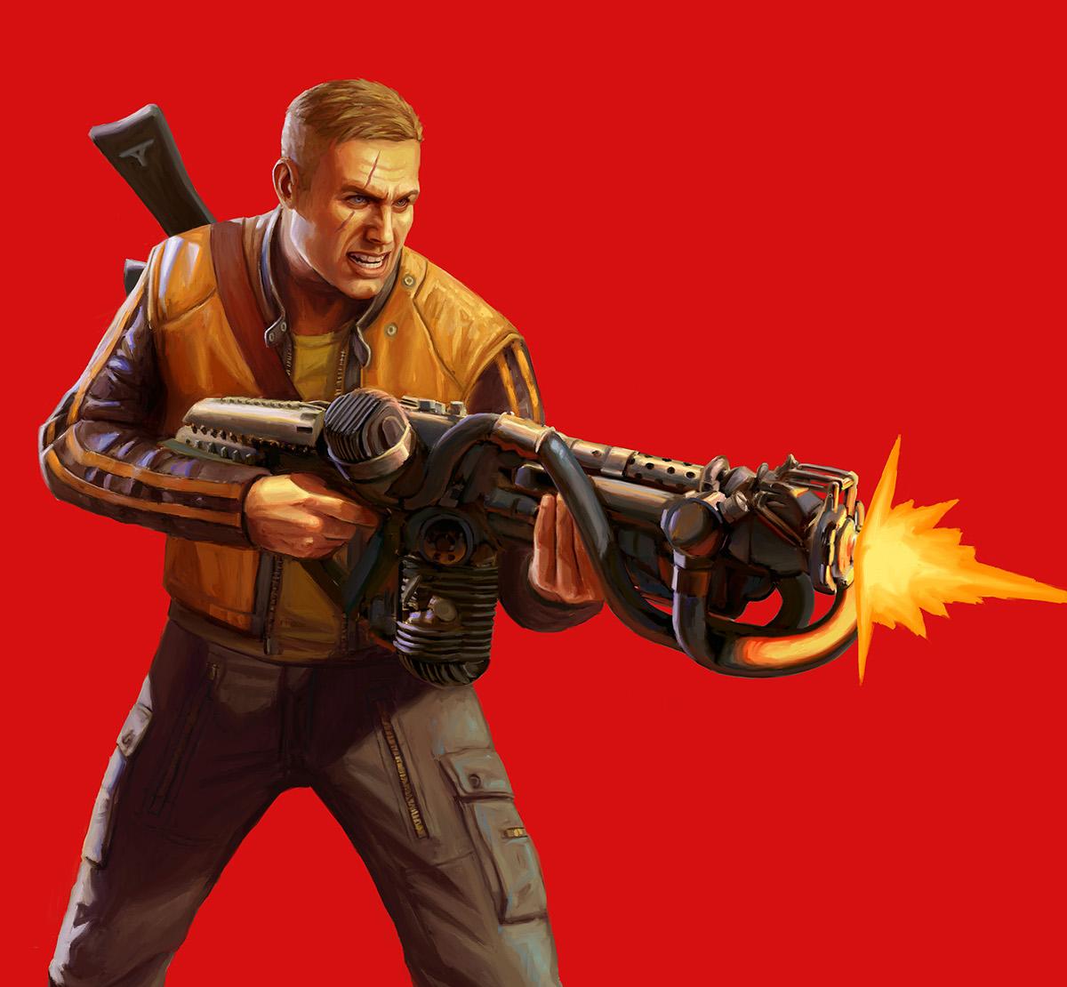 Wolfenstein 2 -- Artwork on Behance