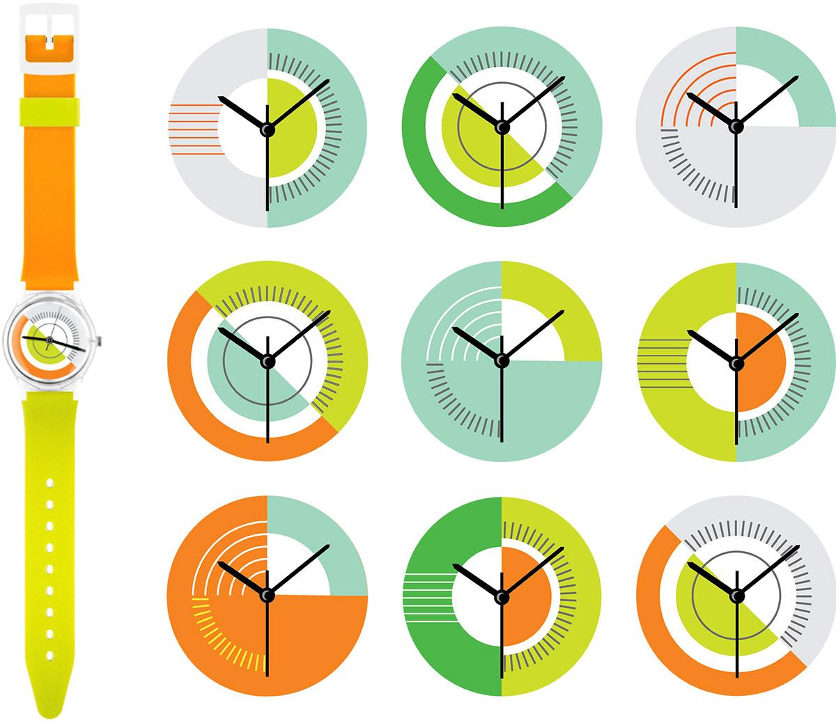 watch WatchDesign modernwatch accessories geometric fashionwatch plastic color Watches Urban