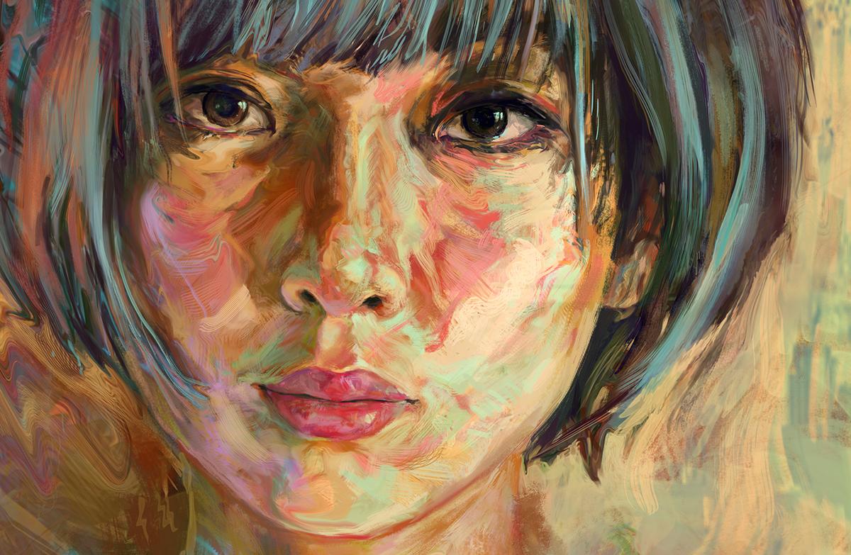 Jerome Birti |Digital Paintings - ArtPeople.Net
