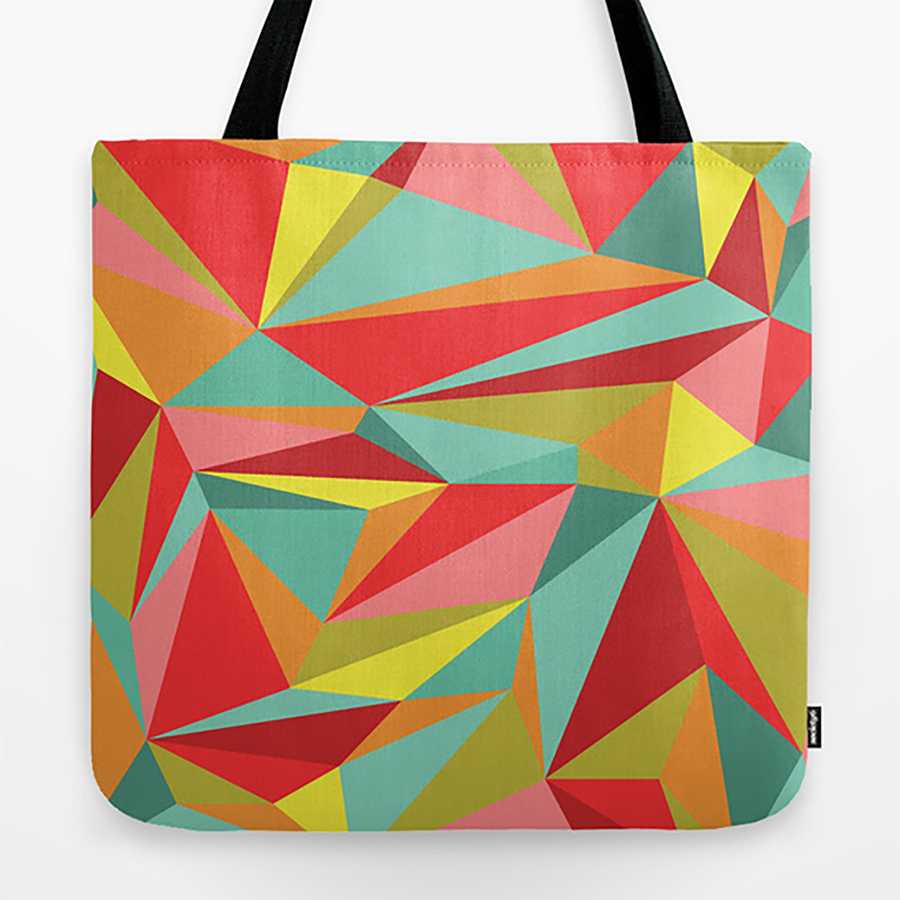 abstract pattern surface design Tote phone case clock pillow