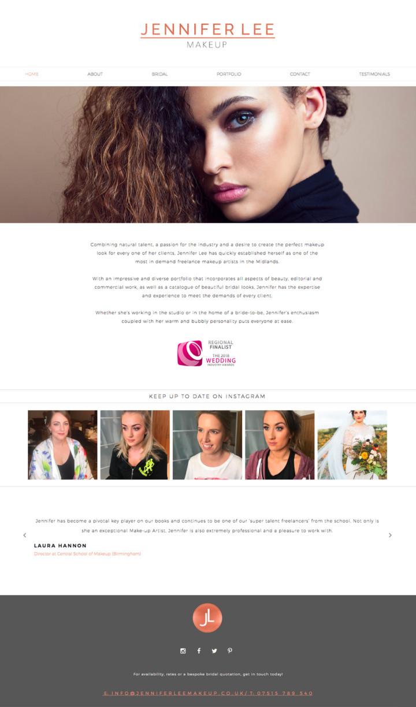 Makeup Artist Logo Branding On Behance,Negative Space One Logo Design