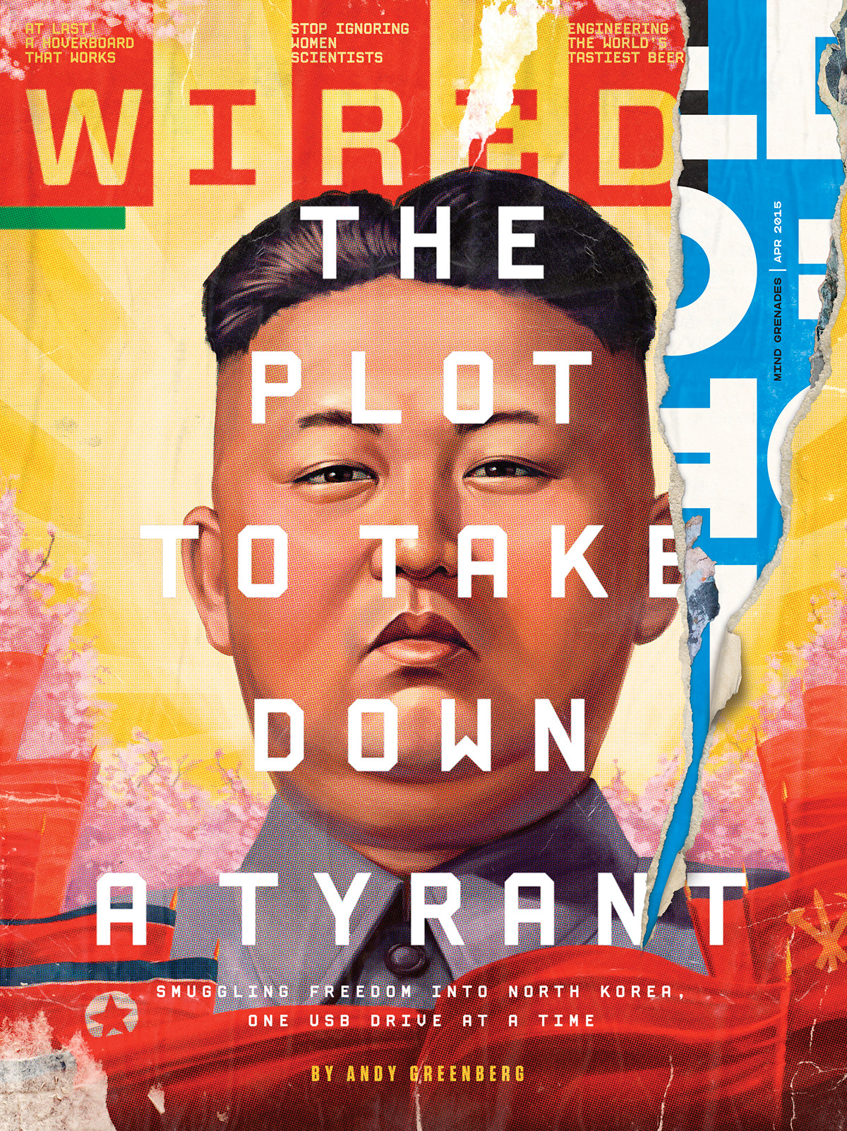 Wired Cover   The Plot To Take Down A Tyrant Wired On Behance