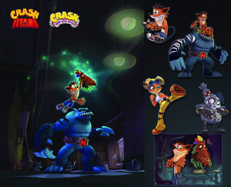 Games Crash Bandicoot On Behance