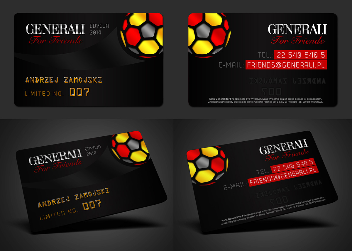 football premium club card