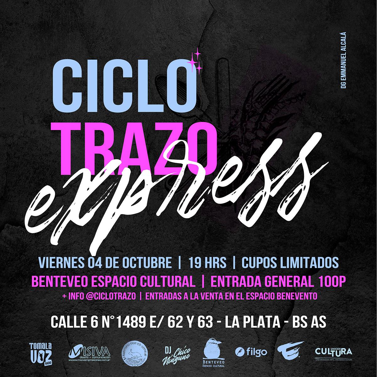 ciclotrazo arte experiencia modelovivo modellife brand branding  Experience
