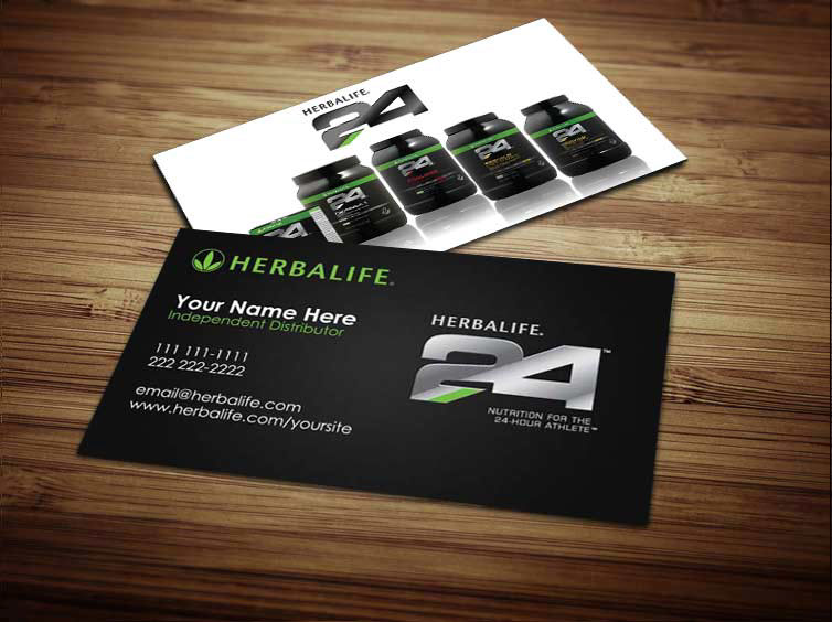 Herbalife business cards on behance flashek