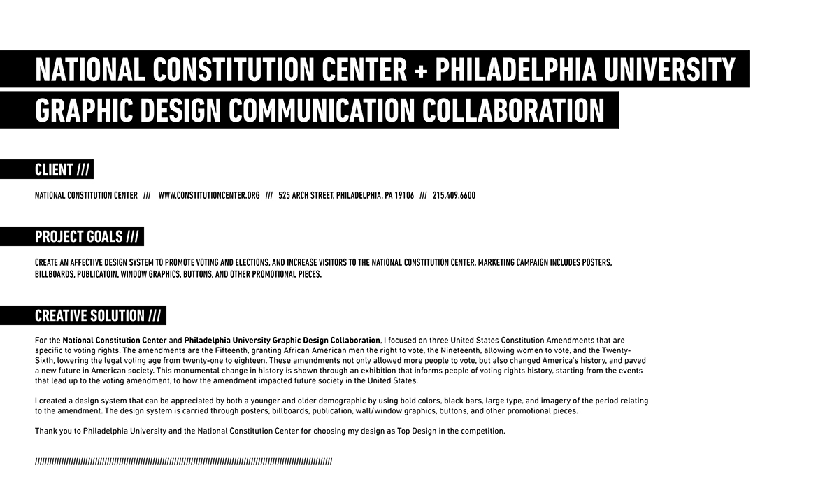 National Cons Ution Center Design Collaboration