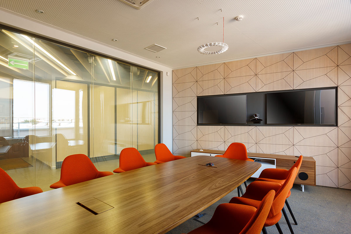 Office Office interior natural materials Open Space Office Design cool offices
