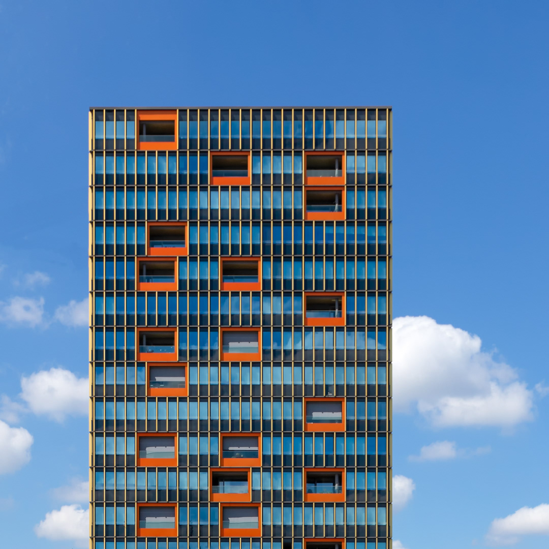Leutschen Tower by Bétrix & Consolascio, completed in 2011.⠀