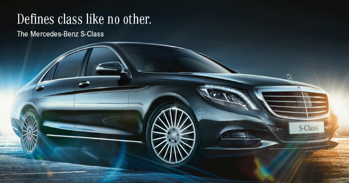 Mercedes Benz Silver Star Facebook Ads On Behance