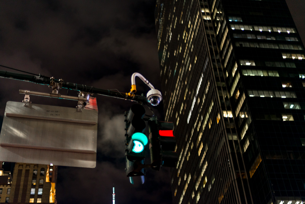 New York fear Street being watched  phobia cameras control police