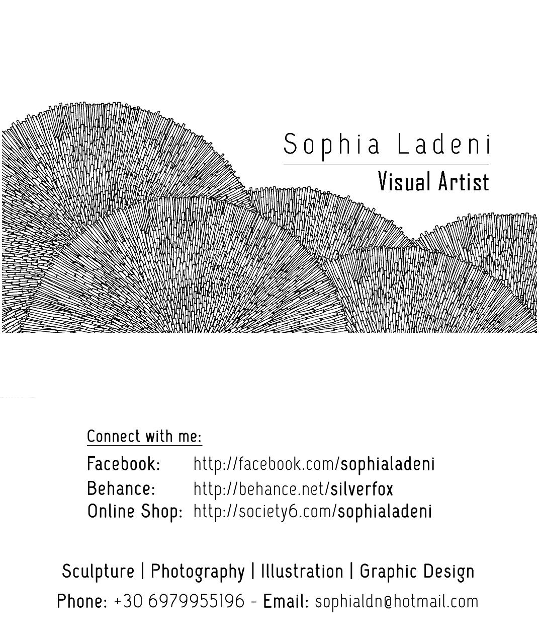 Visual Artist Business Card on Behance