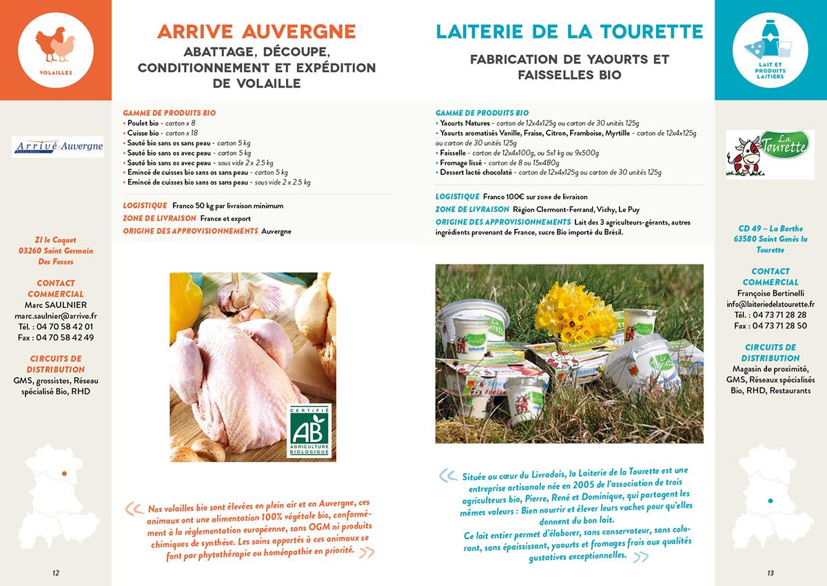 Catalogue bio auvergne