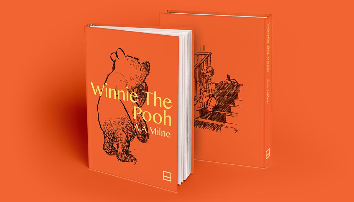 winnie-the-pooh Pooh book editorial Proposal Brazil disney ursinho pooh