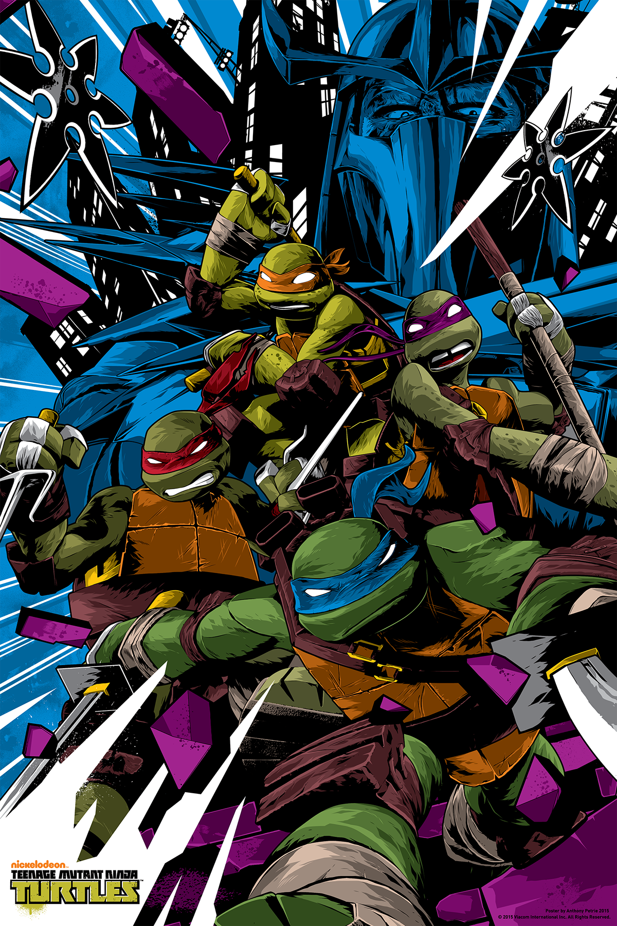TMNT DVD Poster Insert on Behance